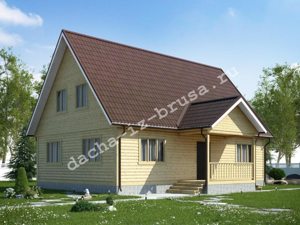 Оптимальный фундамент для здания из бруса