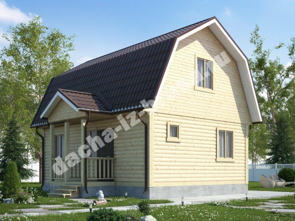 Жилой дачный дом с- rusdomru